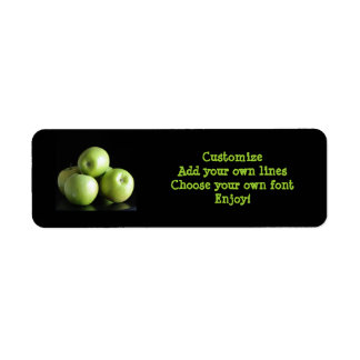 dietitian, nutritionist ... an apple a day return address label