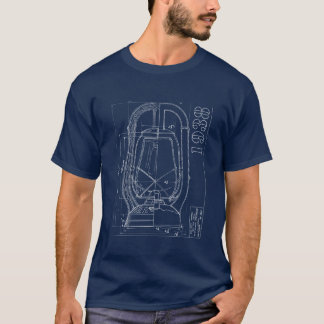 Dietz Monarch line drawing company shirt INVERT