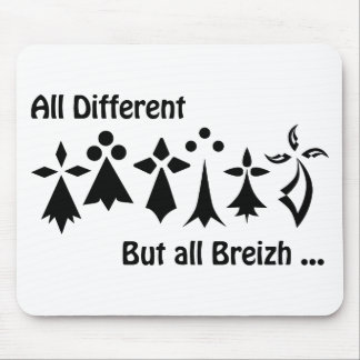 Different Al drank Al Breizh Brittany Mouse Pad