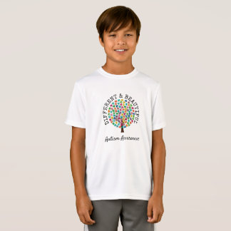 Different and Beautiful Autism Awareness Shirt