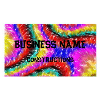 different  colorful pattern pack of standard business cards