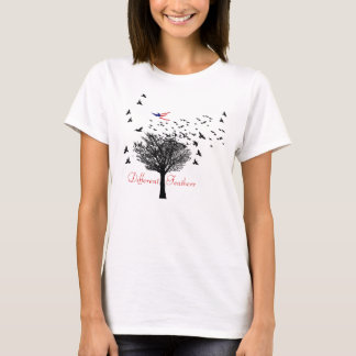Different Feathers T-Shirt