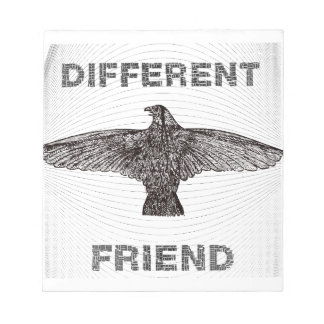 DIFFERENT FRIEND NOTEPAD