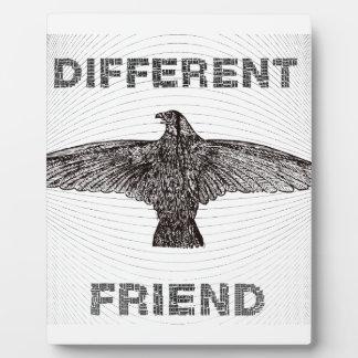 DIFFERENT FRIEND PLAQUE