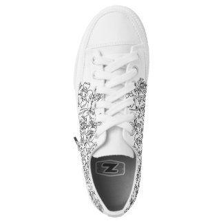 Different is Beautiful Floral Low Tops