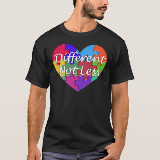 Different Not Less Autism Awareness T-Shirt