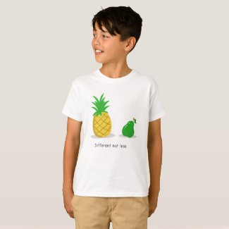 Different Not Less - Children's Shirt