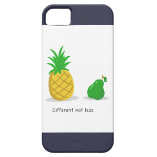 Different Not Less - iPhone Case (Navy)