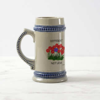 Different Not Less/STEIN Beer Stein
