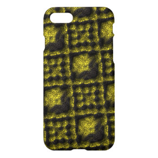 Different one colored circle and square pattern iPhone 7 case