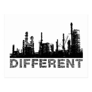 different postcard