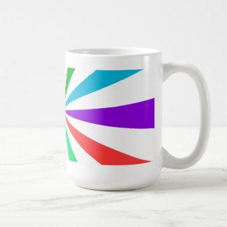 Different Ray Light Basic White Mug