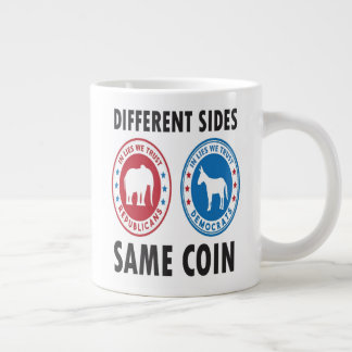 DIFFERENT SIDES SAME COIN Mug
