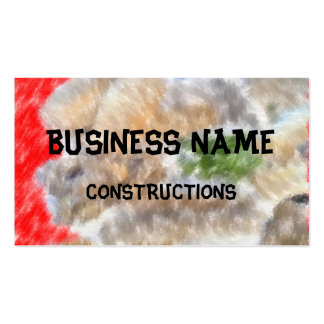 Different trendy art pack of standard business cards