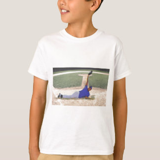 Difficult Baseball Catch Art T-Shirt