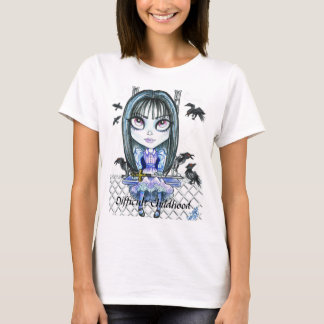 Difficult Childhood Bad Girl Fantasy Art T Shirt