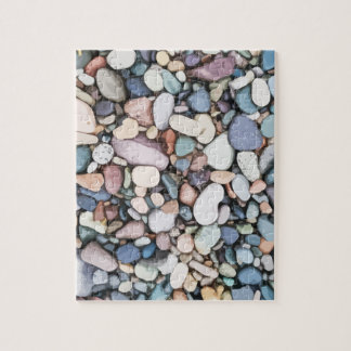 Difficult Colorful Multicolored Pebbles Beach Rock Jigsaw Puzzle