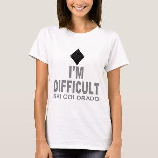 Difficult Ski Colorado T-Shirt