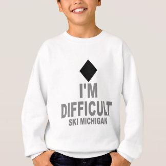 Difficult Ski MICHIGAN Sweatshirt