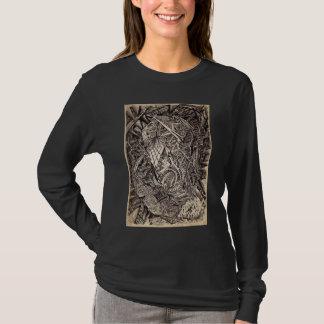 Diffracted (cavern dweller), by Brian Benson T-Shirt