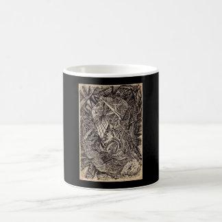 Diffracted (cavern dweller) coffee mug