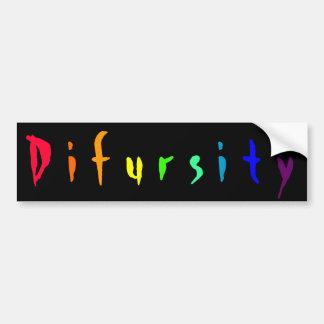 Difursity Bumper Sticker