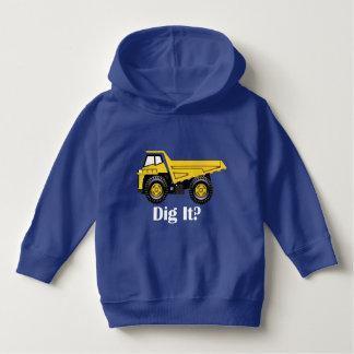 Dig It? - Toddler Pullover Hoodie