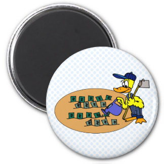 Digger Duck Magnets