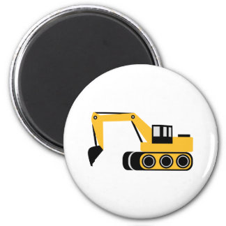 Digger Fridge Magnet