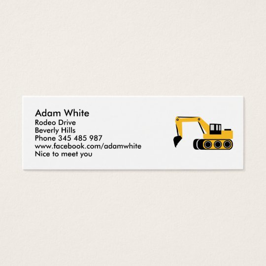 Digger Mini Business Card