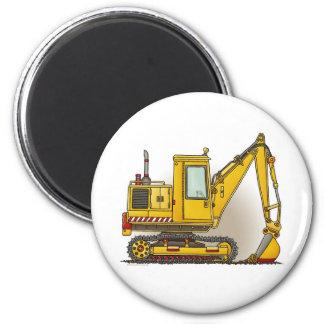Digger Shovel Round Magnet