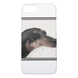 Digger Sleeping Sketch iPhone 7 Case