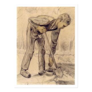 Digger, Vincent van Gogh Postcard