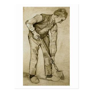 Digger, Vincent van Gogh Post Card