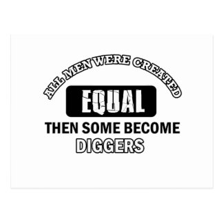 Diggers designs post cards