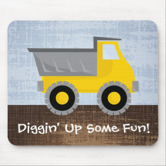Diggin' Up Some Fun Mouse Pad