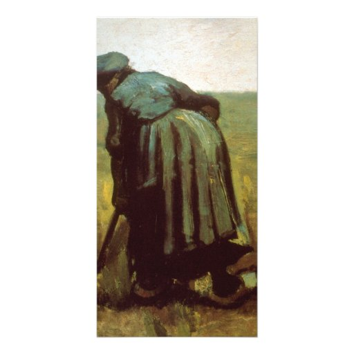 Digging by Vincent van Gogh Picture Card