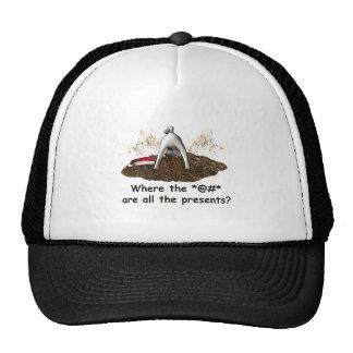 Digging Pug cap Mesh Hat