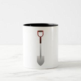 Digging Shovel Coffee Mug