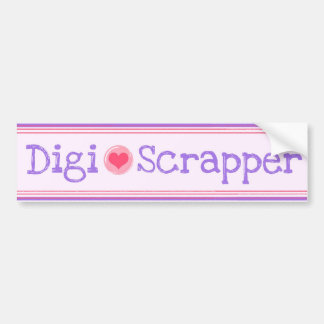 Digi-Scrapper Bumper Sticker