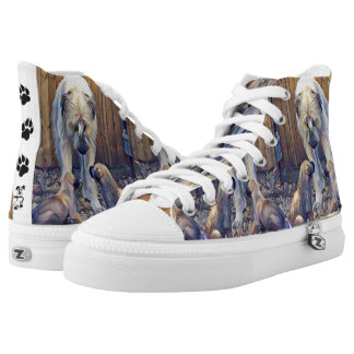 DigiDog's The Passing of Knowledge High Tops