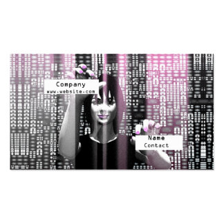 Digit Girl - Business Pack Of Standard Business Cards