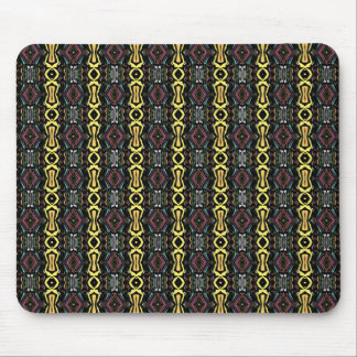 Digital Abstract Art Imperial Pattern Mouse Pad