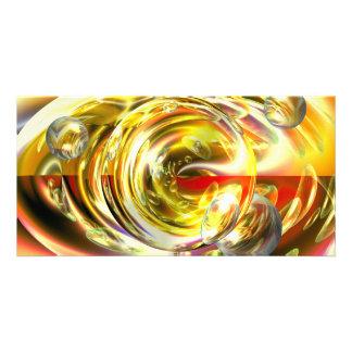 Digital Abstract Art Photo Card