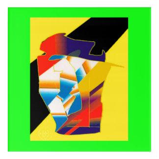 Digital Abstract Illustration DAI cp11 Acrylic Wall Art