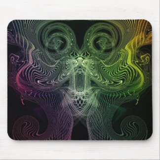 digital abstract mouse pad
