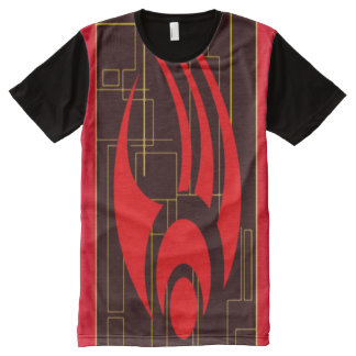 Digital Alliance Council Fantasy Symbol All-Over Print T-Shirt