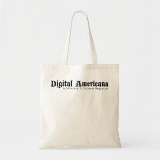 Digital Americana iPad Tote Budget Tote Bag