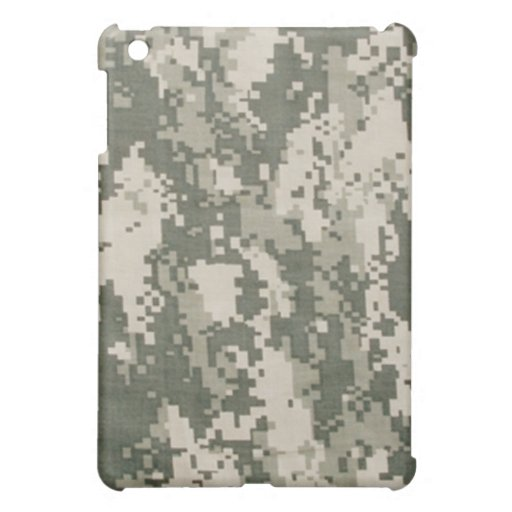 Digital Army Camouflage iPad Case