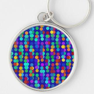 Digital Art Gliftex Abstract (202) Key Ring